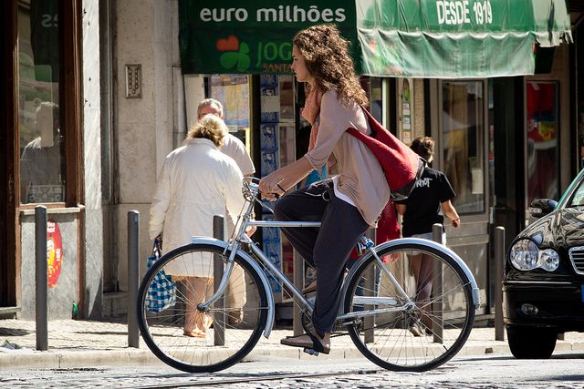 Bicicleta em Lx, por FotoBen