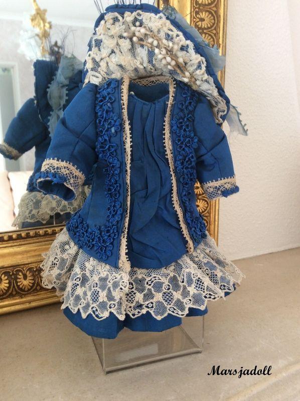 antique silk dress size 2