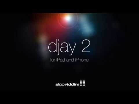 djay 2 by Algoriddim - Coming soon to your iPad and iPhone - YouTube