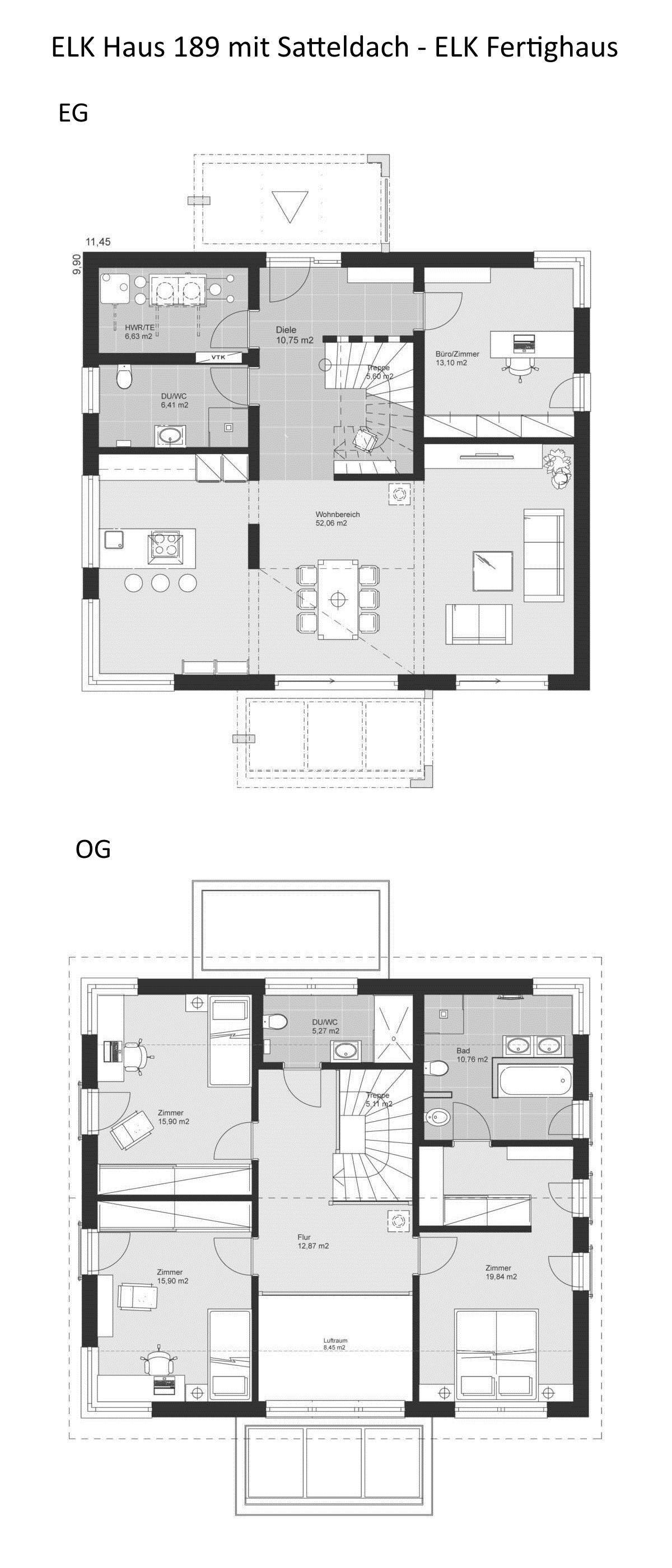Wohnzimmer Modern Grundriss Grundriss Einfamilienhaus