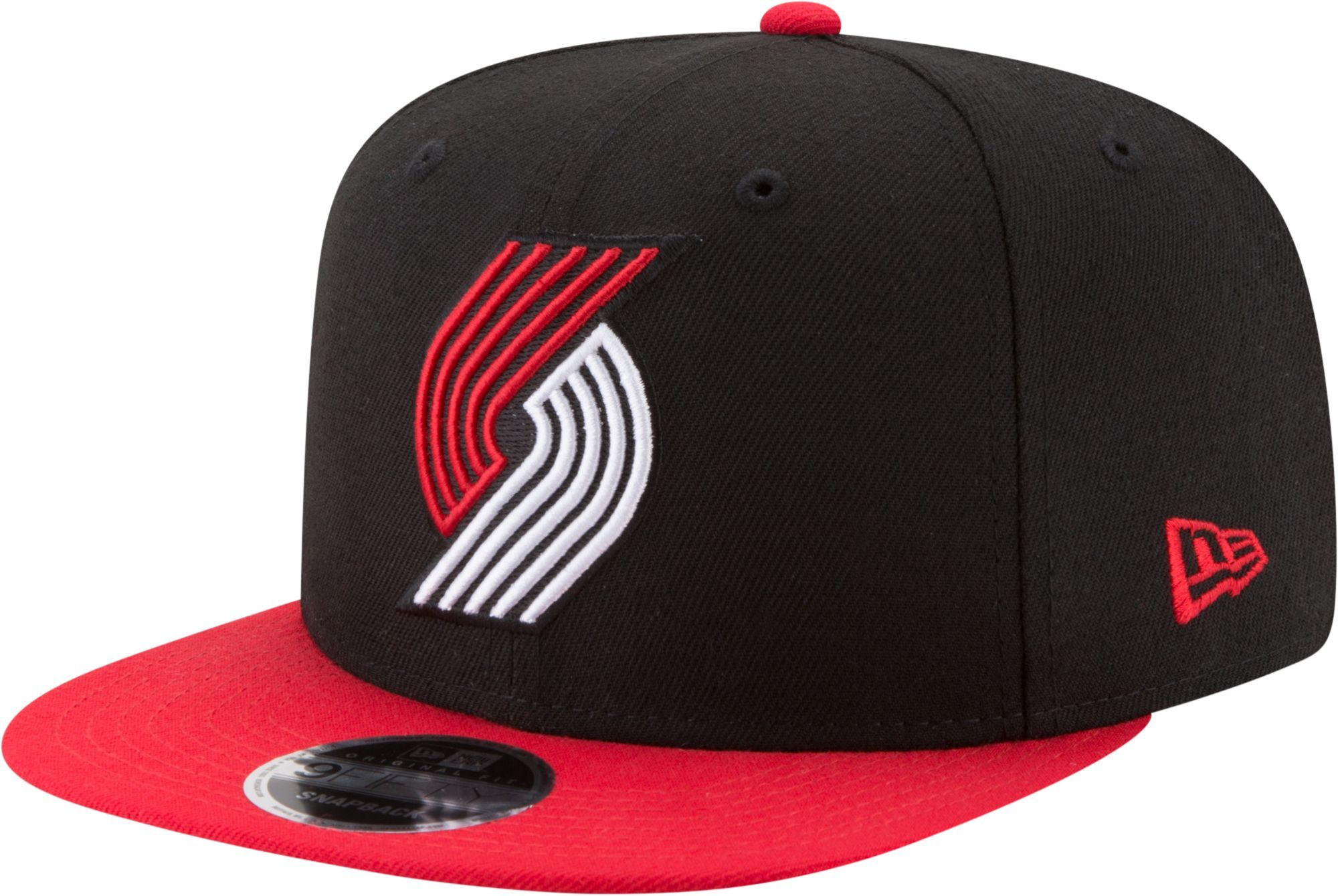 new arrival 5d2d2 f01d3 New Era Men s Portland Trail Blazers 9Fifty Adjustable Snapback Hat
