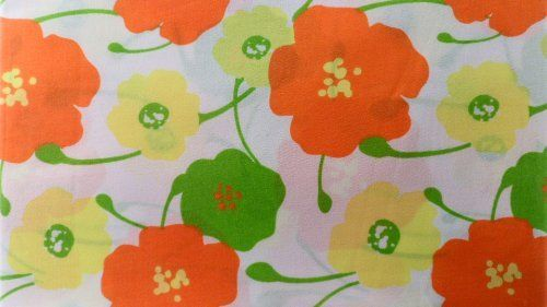 SHEET SET , COSMO GIRL, TWIN, WHITE BACKGROUND WITH COLORED FLOWERS by PEM AMERICA, INC.. $34.95. SHEET SET , COSMO GIRL, TWIN, WHITE BACKGROUND WITH ORANGE, GREEN AND YELLOW