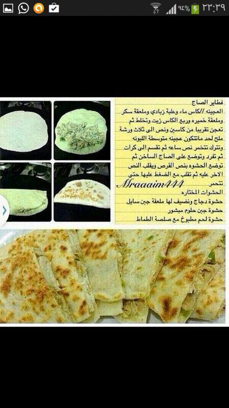 فطائر على الصاج 1 Cooking Recipes Food And Drink Cooking