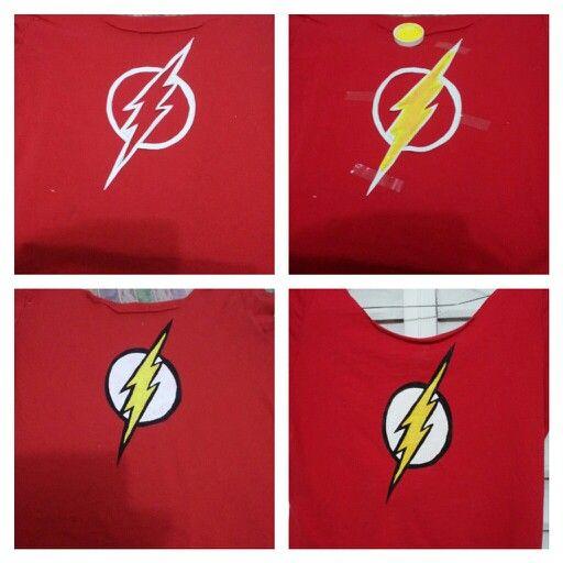 Flash tshirt #diy #fabricpaint