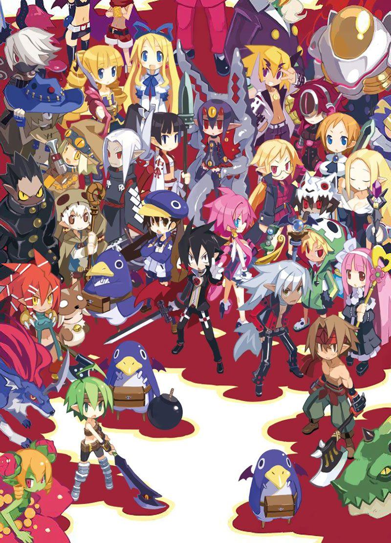 Promo Illustration Character Art Disgaea Fantasy Character Design