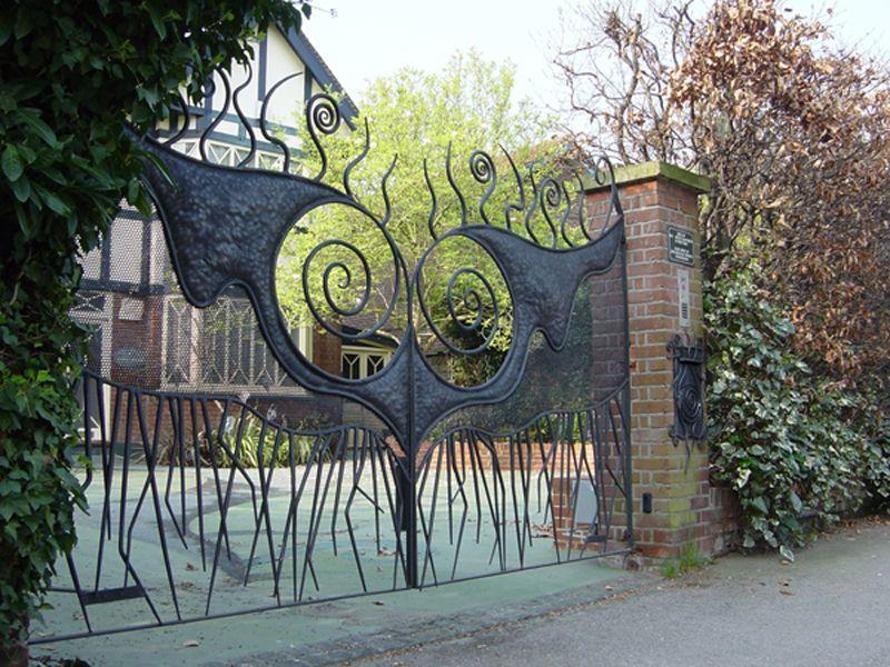 Exceptional Handmade Gates   Ornamental Gates   Artistic Garden Gate  