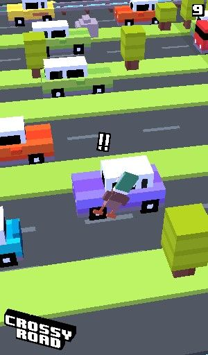 CROSSY ROAD LOVE THE GAME