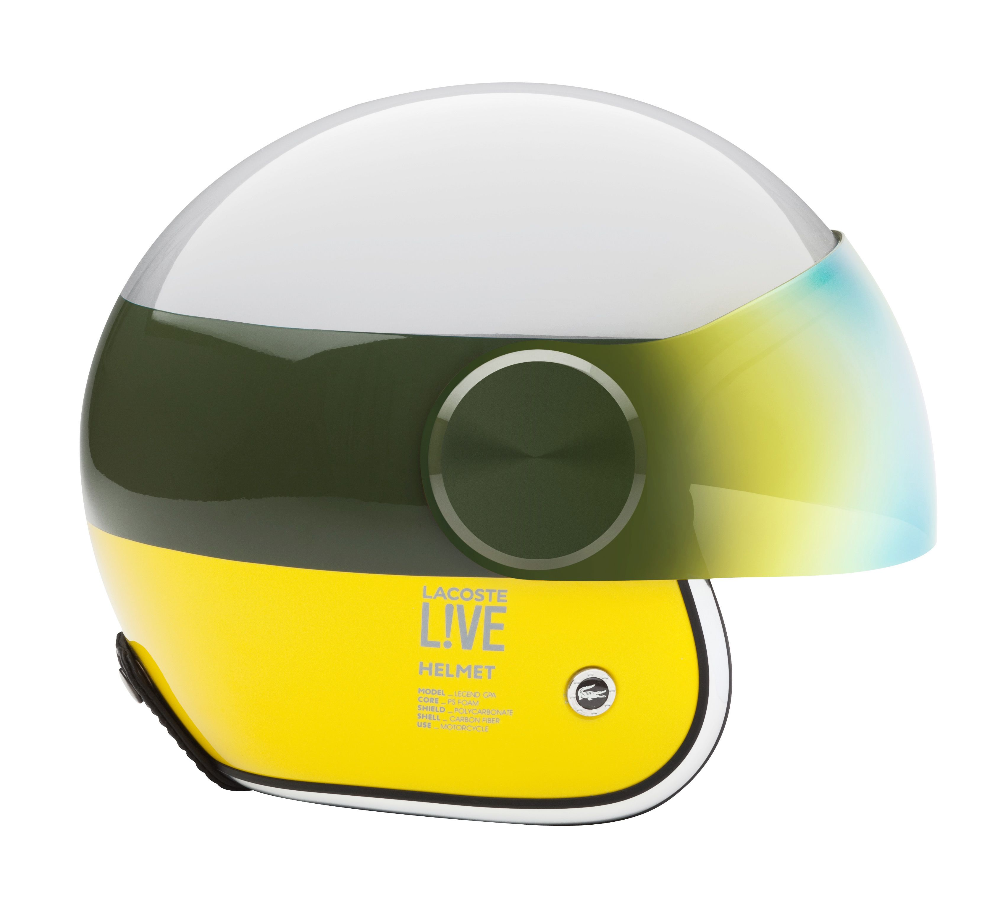 c426097a1086 Lacoste Lab for Lacoste L!VE Scooter Helmet. Engineered by GPA Design.