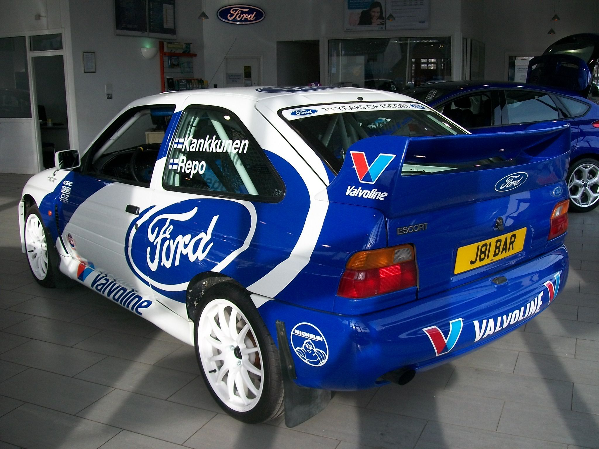 Pin On Busseys Escort Rs Cosworth