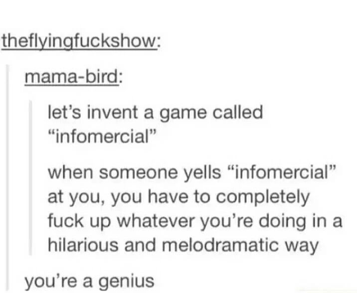 I would play the hell out of this game. Tumblr
