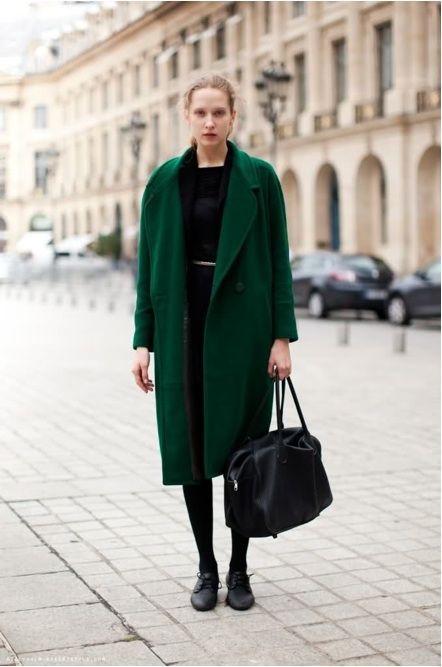 great coat | Emerald Green Rules | Pinterest | Green coat, Emerald ...