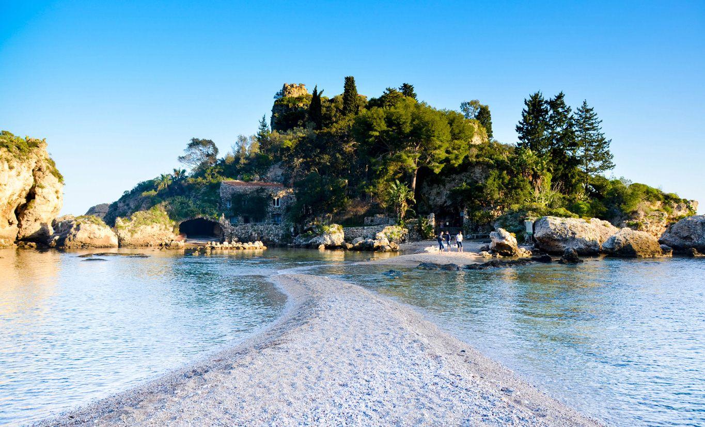 isolabellataormina Sicile, Sicile italie, Sicile plage