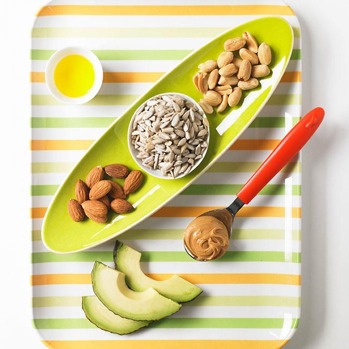 Good fats found in almonds, avocado, dark chocolate, and these other healthy foods deliver a boatloa