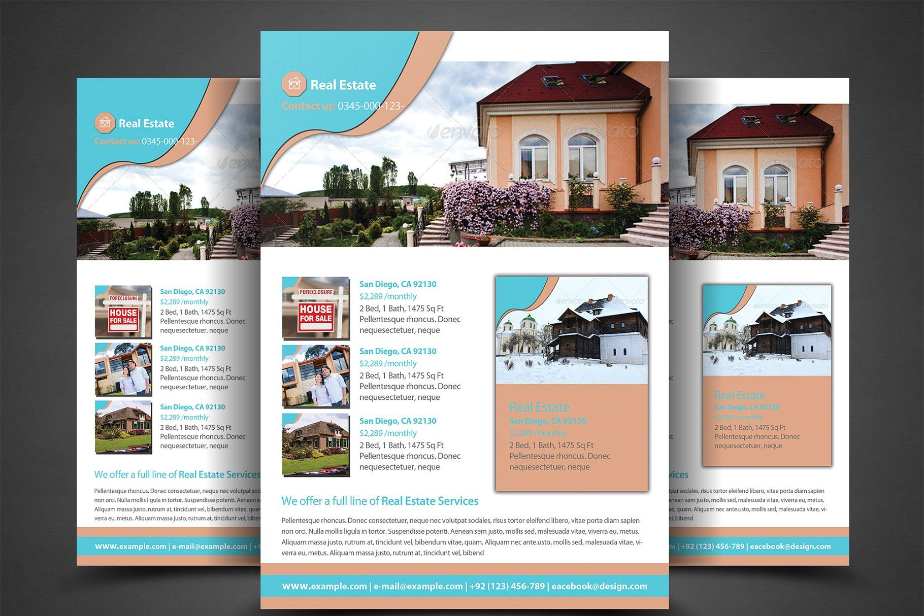 pro real estate flyer template estate real pro templates clothing