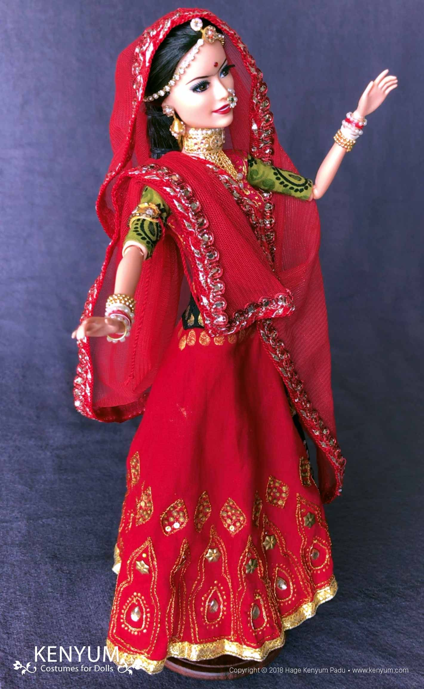 Padmaavat Doll | Long sleeve dress, Dresses with sleeves ...