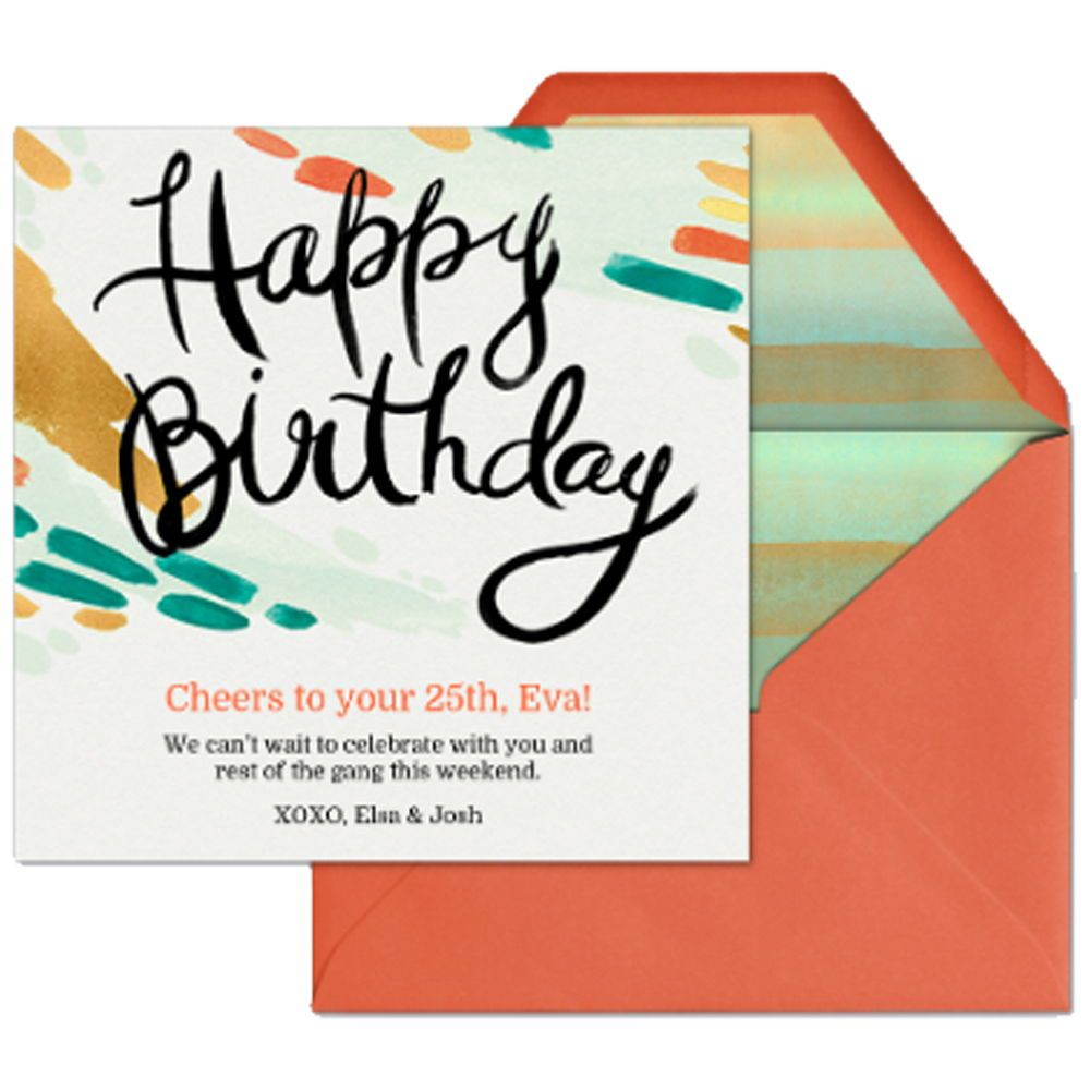 Tell Your Favorite Person Happy Birthday With This Digital Card