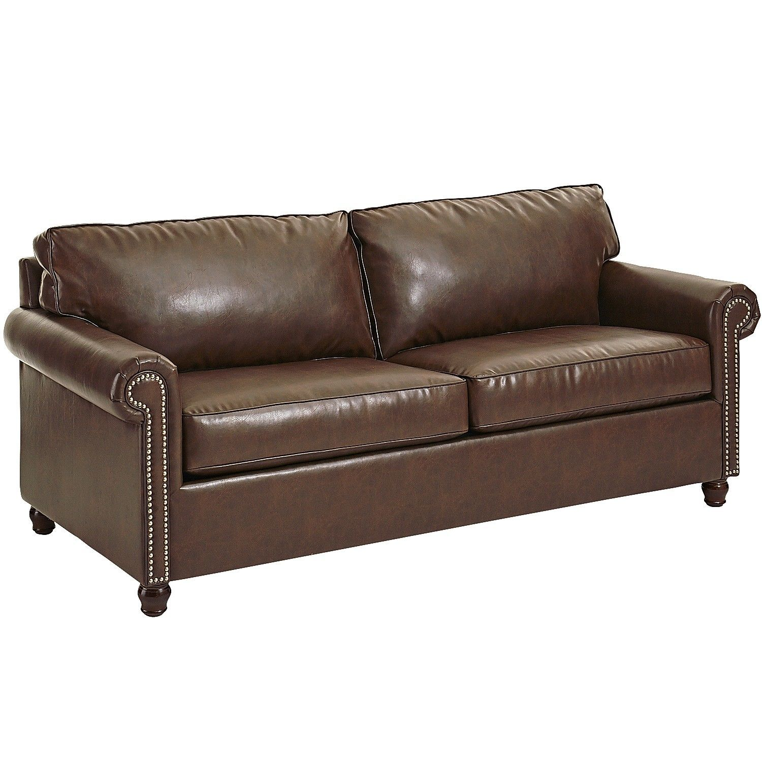 Best Alton Sleeper Sofa Tobacco Brown Pier 1 Imports 400 x 300