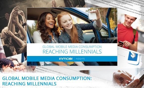 """Linktipps:    Neue Studie (inkl. Whitepaper und Infografik) von inmobi über mobile Mediennutzung und Nutzerverhalten der Zielgruppe """"Millennials""""  und eine Case Study über McDonalds Thailand und eine mit OMD Thailand entwickelte Mobile Kampagne"""