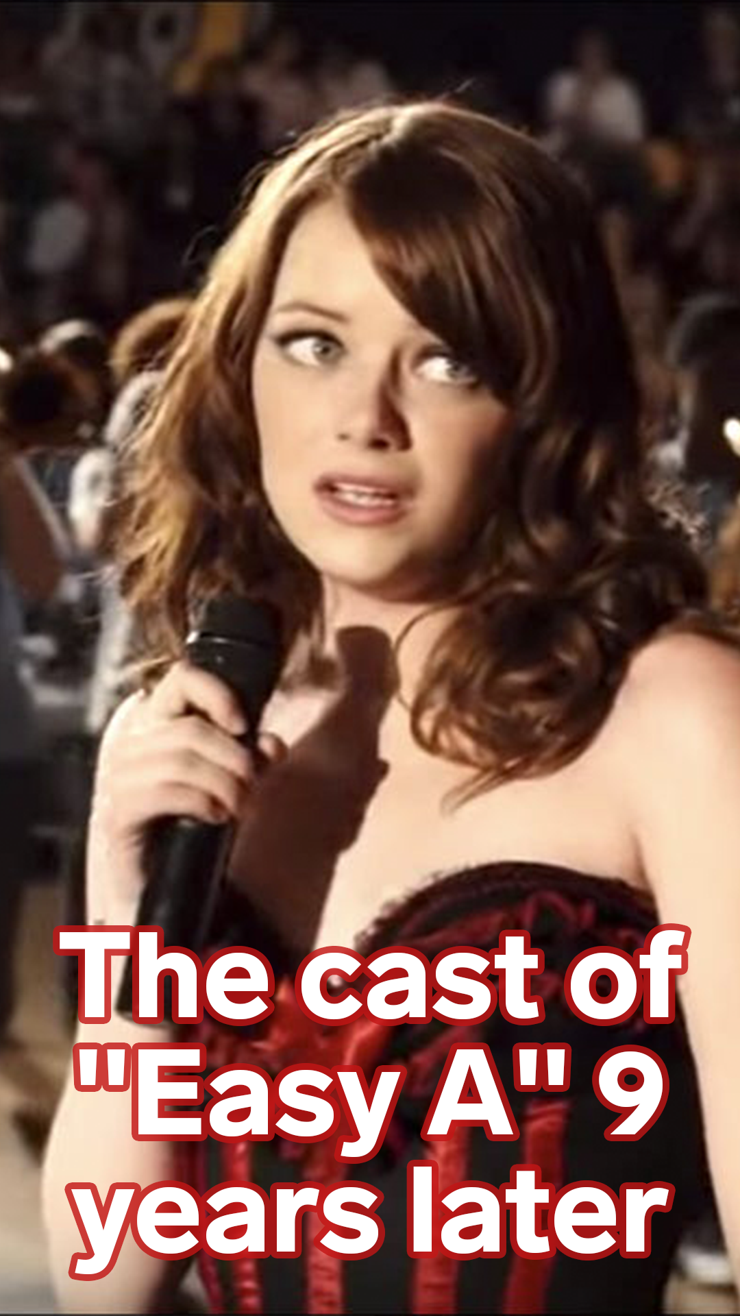THEN AND NOW The cast of 'Easy A' 9 years later Actor