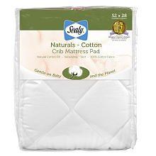 Sealy Naturals Crib Mattress Pad