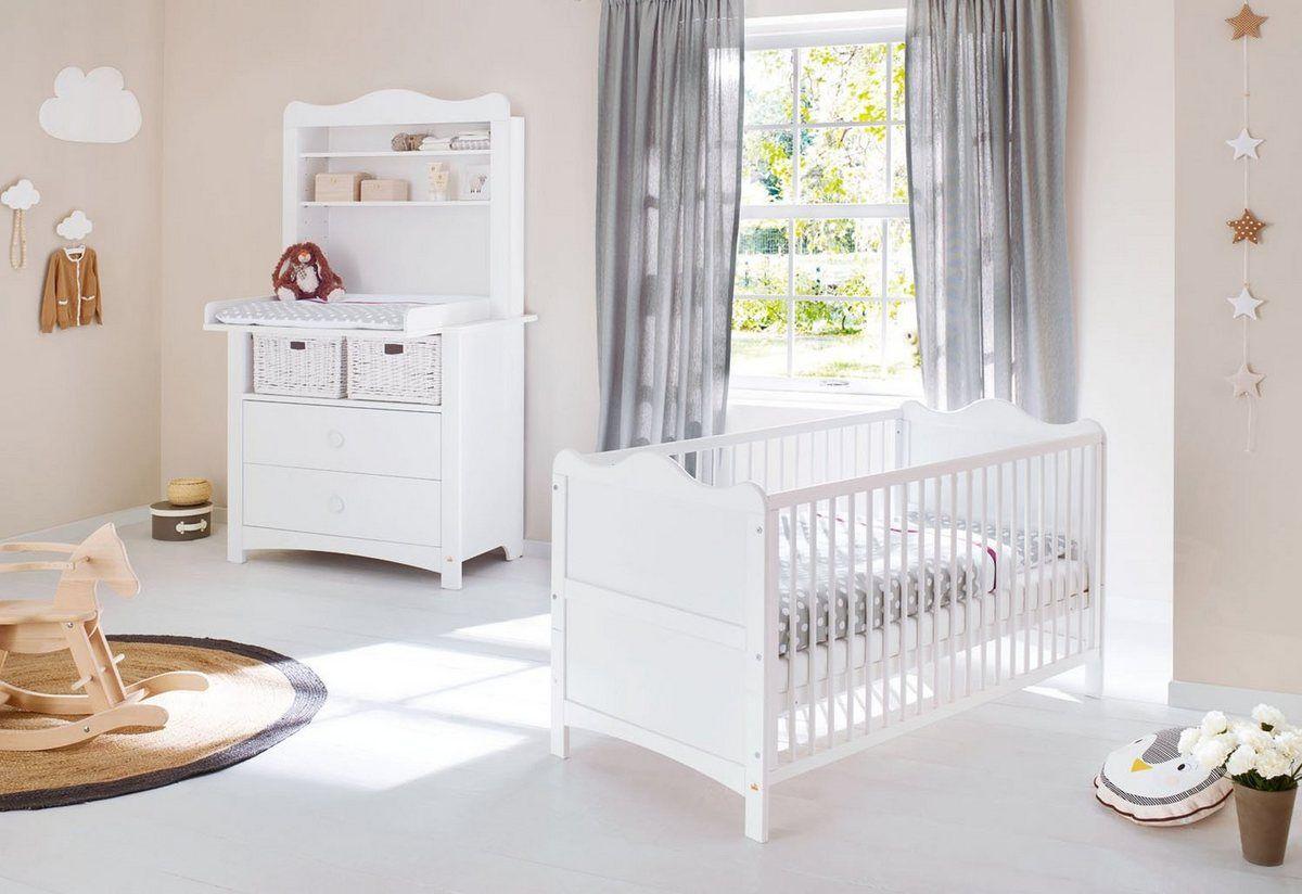 Babyzimmer Komplettset Florentina Breit Inkl Regalaufsatz In