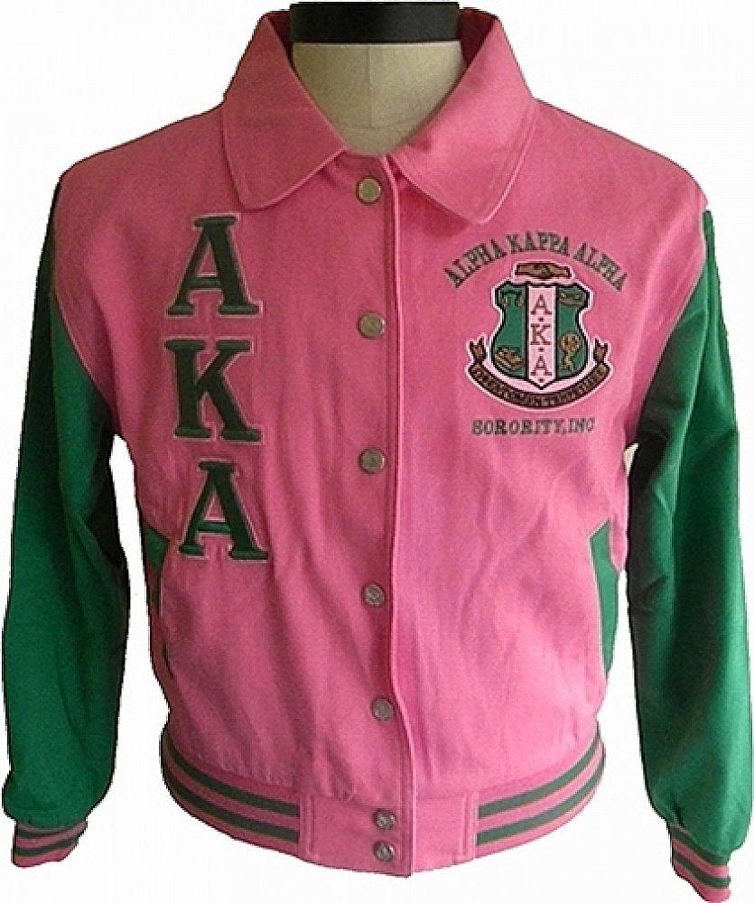 949bc87c9 Buffalo Dallas Alpha Kappa Alpha 2-Tone Ladies Letterman Twill ...