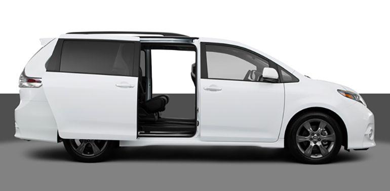 2015 Minivan Toyota Sienna Interior And Performance Mini Van Toyota Sienna Toyota Sienna Interior