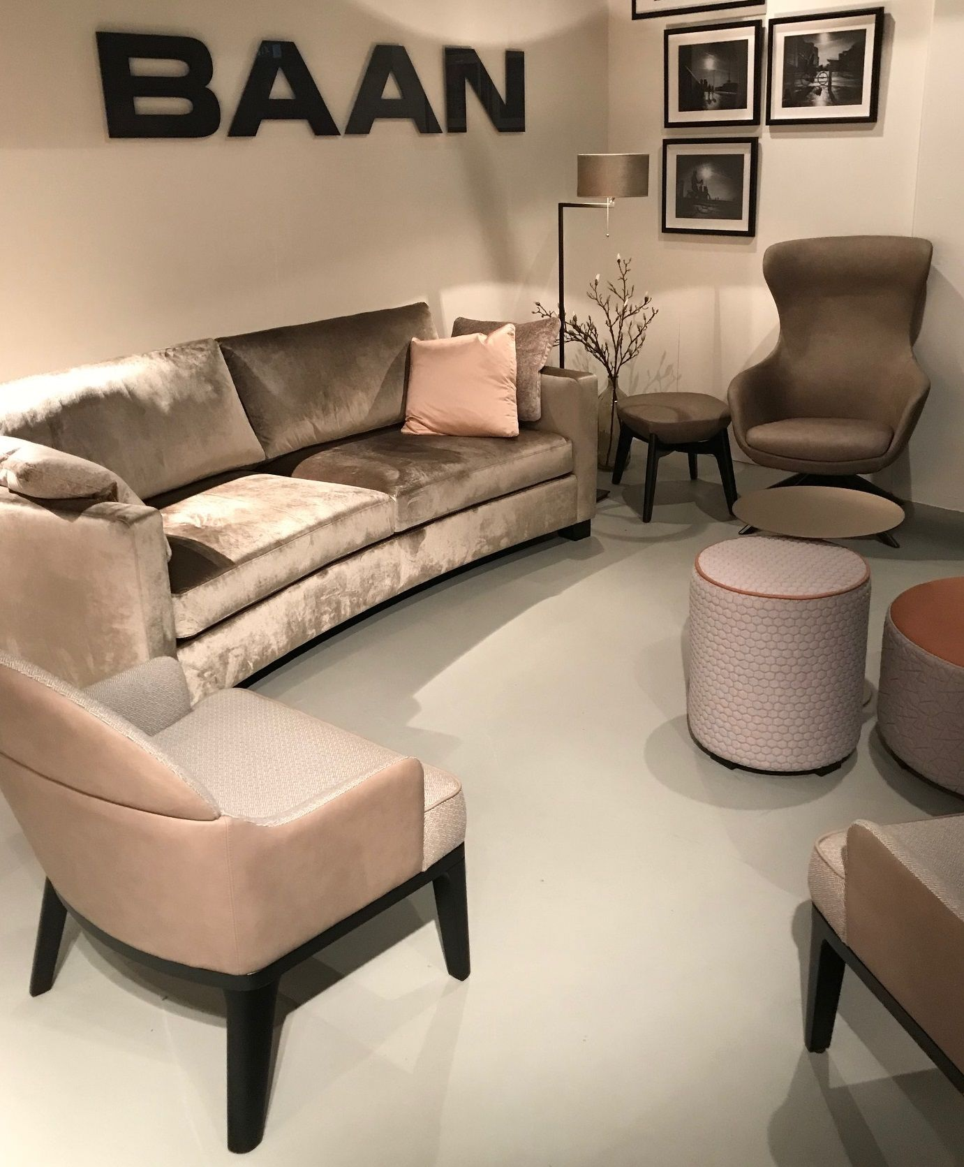Bank Fauteuil Hocker.Bank Sam By Baan I Fauteuil Dylan By Baan I Fauteuil Cocoon