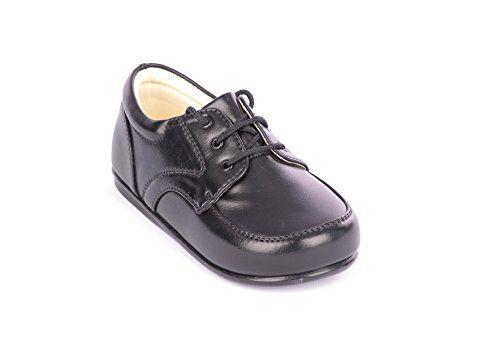 Smart Babies/Kleinkinder Matt schwarz Patent Lace Up Schuhe Größe 1-10 - http://on-line-kaufen.de/poshtotz/7-kleinkind-uk-smart-babies-kleinkinder-matt-lace-2