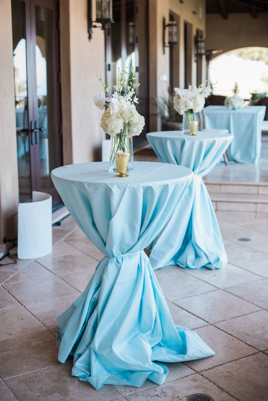 Light Airy Blue Hued Wedding Planners
