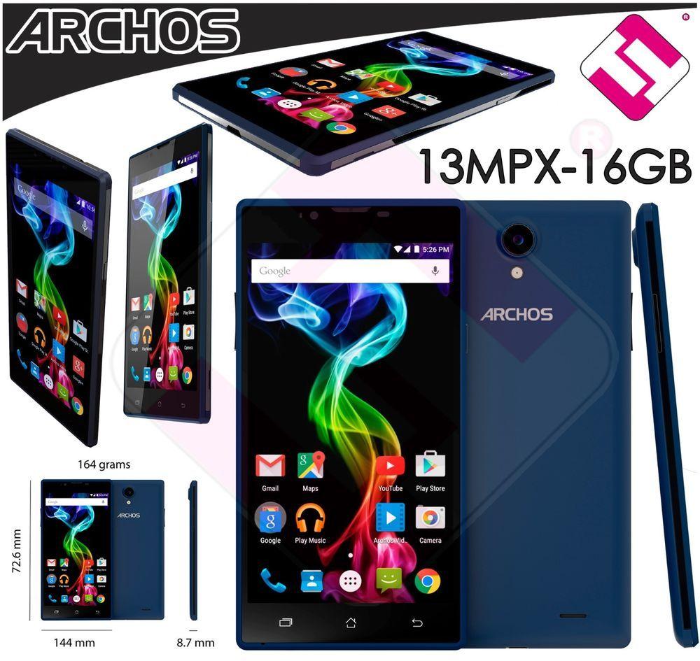 Smartphone Telefono Movil Libre Archos 55 Platinum Qc 1 3ghz 1gb