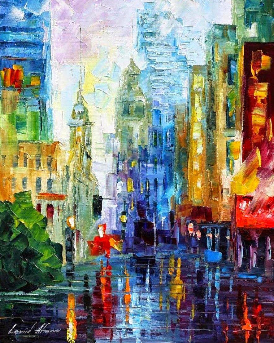 Ciudades pintadas buscar con google arte pinterest - Pinturas acrilicas modernas ...