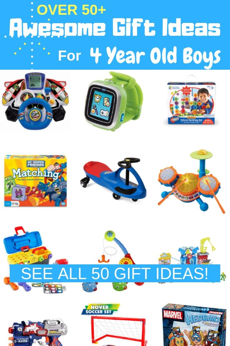 The VERY BEST TOYS for 4 Year Old Boys! | 4 year old boy ...