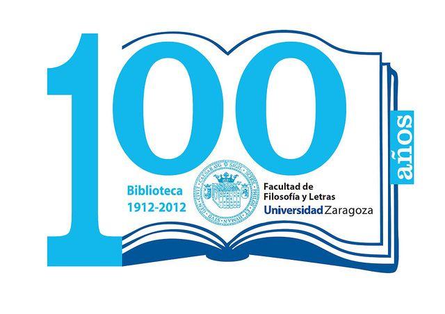 Logotipo para el centenario de la biblioteca de filosof a for Logotipos de bibliotecas