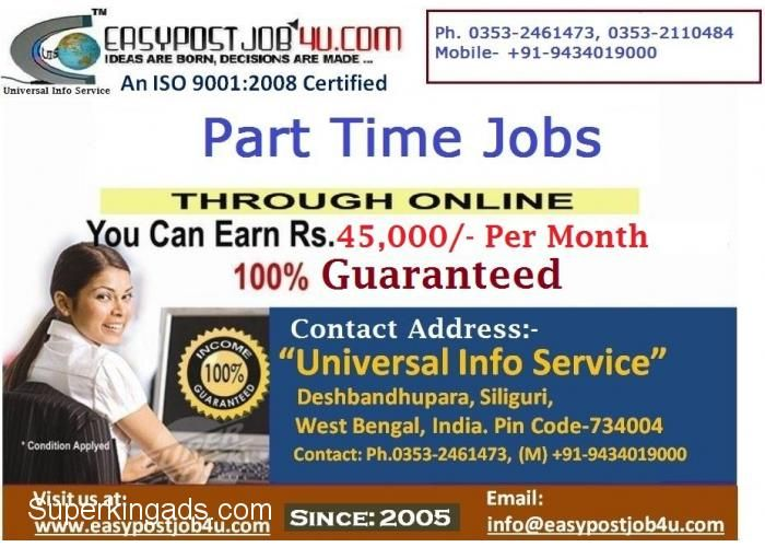 Part time jobs in chennai for housewives