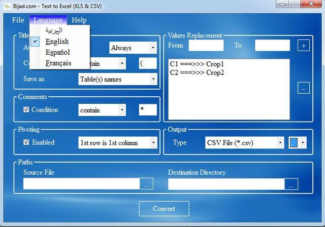 Bijad es un software gratuito, para Windows Xp y versiones posteriores, que convierte los archivos de texto (txt) a hojas de cálculo de excel.