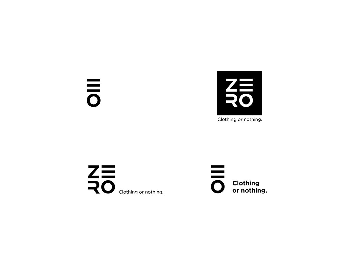 Bicycle clothing brand. ZERO. Road or nothing. on Behance ...