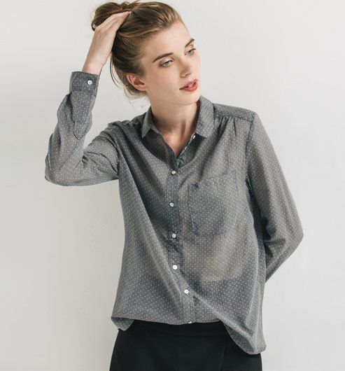 chemise col claudine i believe i could buy pinterest col claudine chemise et cols. Black Bedroom Furniture Sets. Home Design Ideas