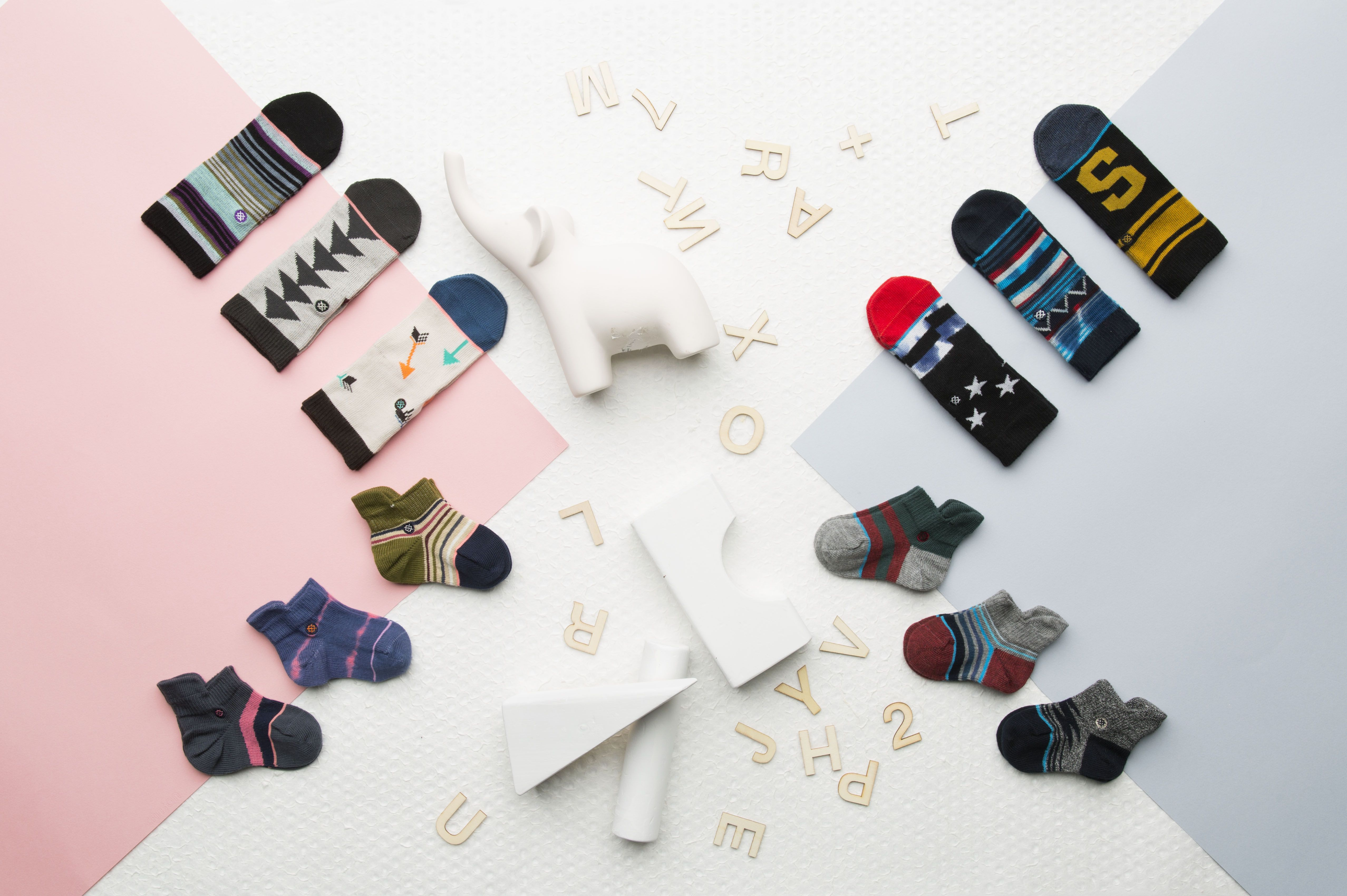 Stance Baby socks treat the young ones