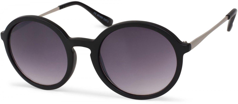 52c15398c67d2f styleBREAKER Sonnenbrille mit runden Gläsern und Kunststoff-Metall Gestell,  Unisex 09020063 Sonnenbrillen 742