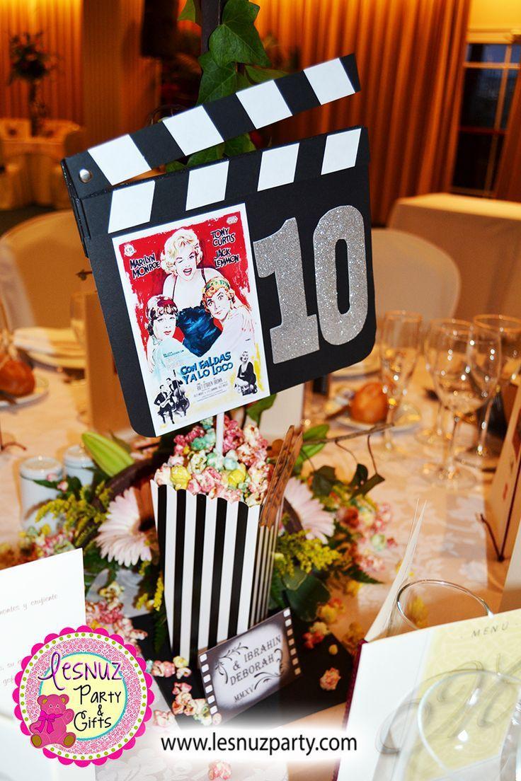 Fiesta de tem tica de hollywood decoraciones pinterest for Decoraciones para fiestas