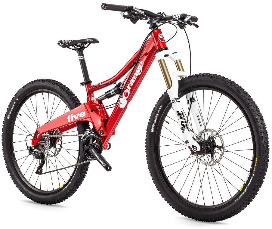 Orange Five Diva Pro Womens 2015 Mountain Bike Mountain Biking