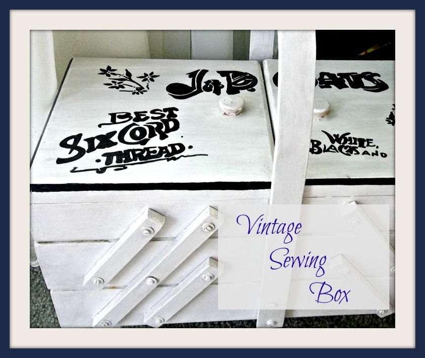 Vintage, Paint and more...: TBT - Vintage Sewing Box