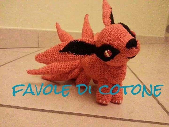 Amigurumi Totoro Receita : Kurama amigurumi crochet amigurumi crochet and