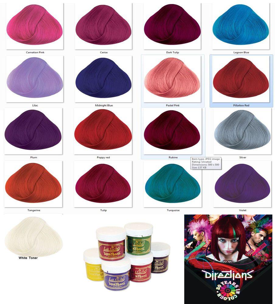 Pravana Vivids Hair Color Chart Hair Colour Dye Tubs All Hair