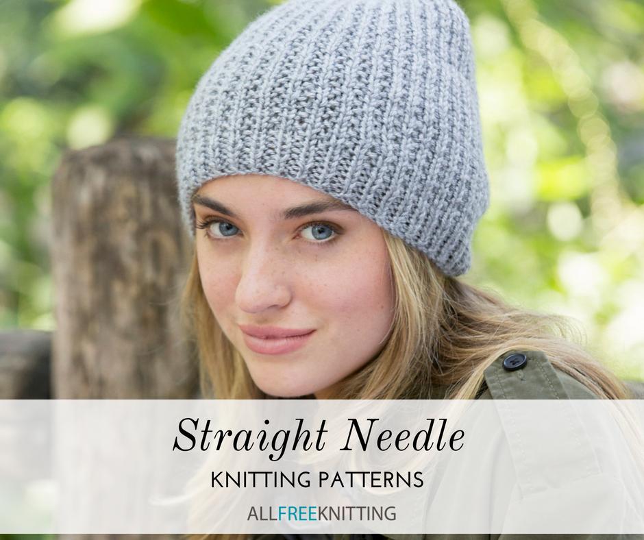 26 Straight Needle Knitting Patterns You Need Knitting Patterns Free Hats Knitting Patterns Free Hats Straight Needles Beanie Knitting Patterns Free