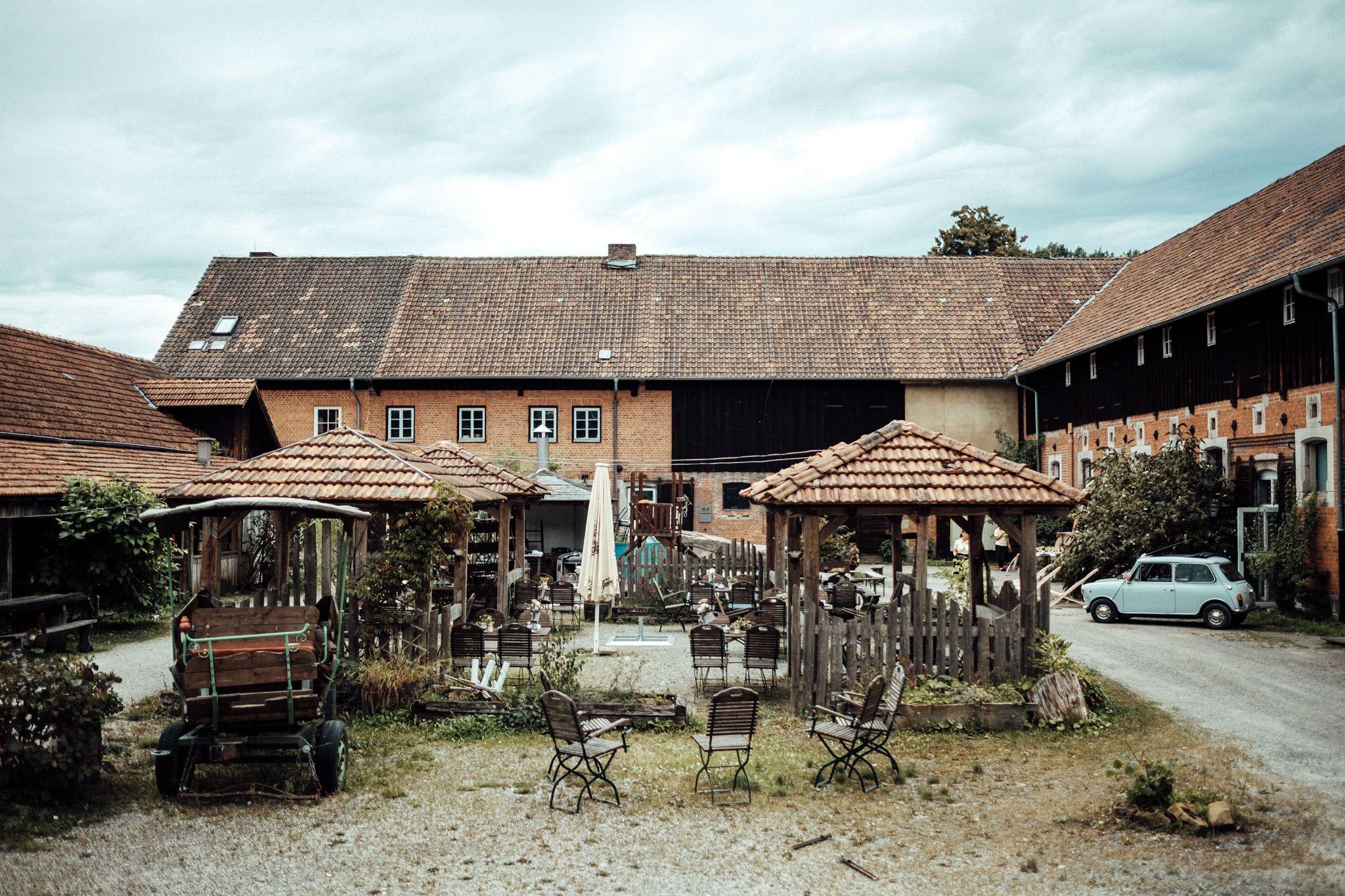 Die Ernstfarm in Coburg ist die perfekte Hochzeitslocation
