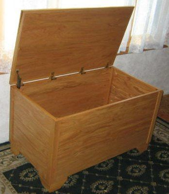 Free Blanket Hope Chest Plans How To Build A Blanket