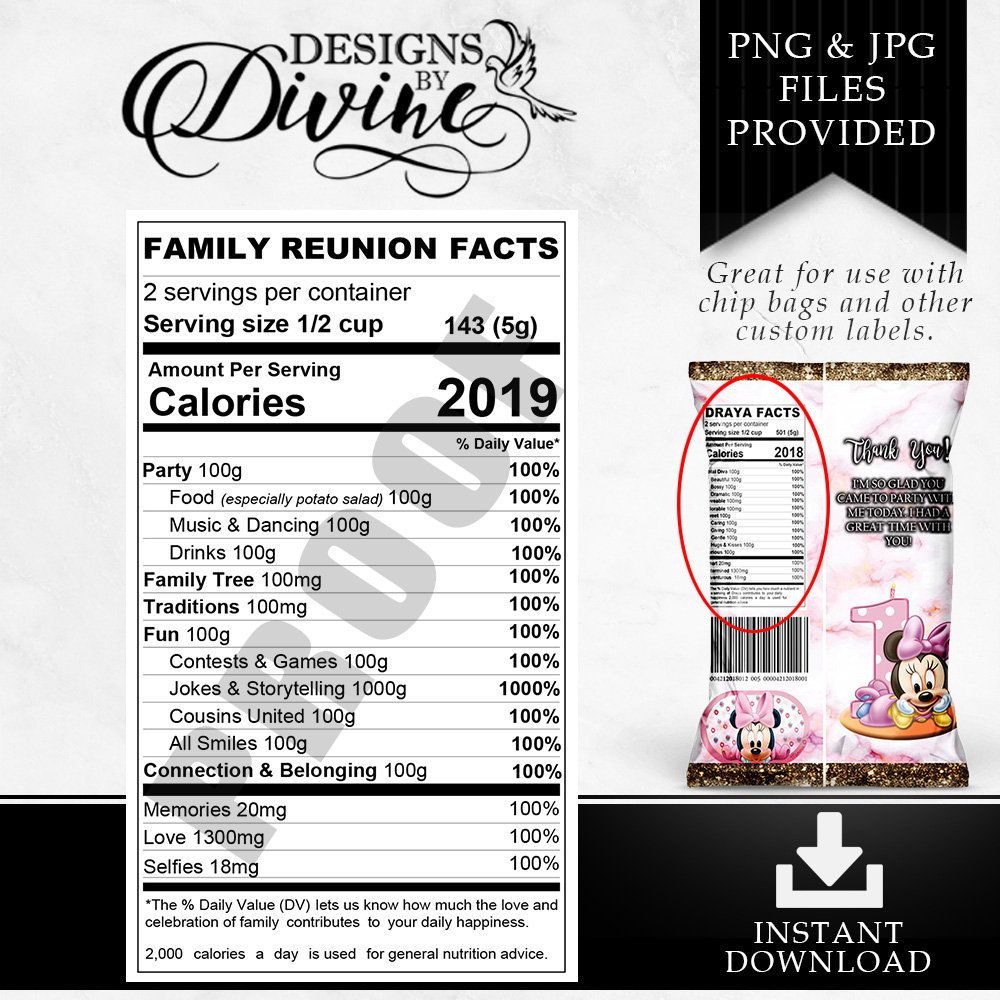 This is a graphic of Monster Custom Nutrition Label Generator