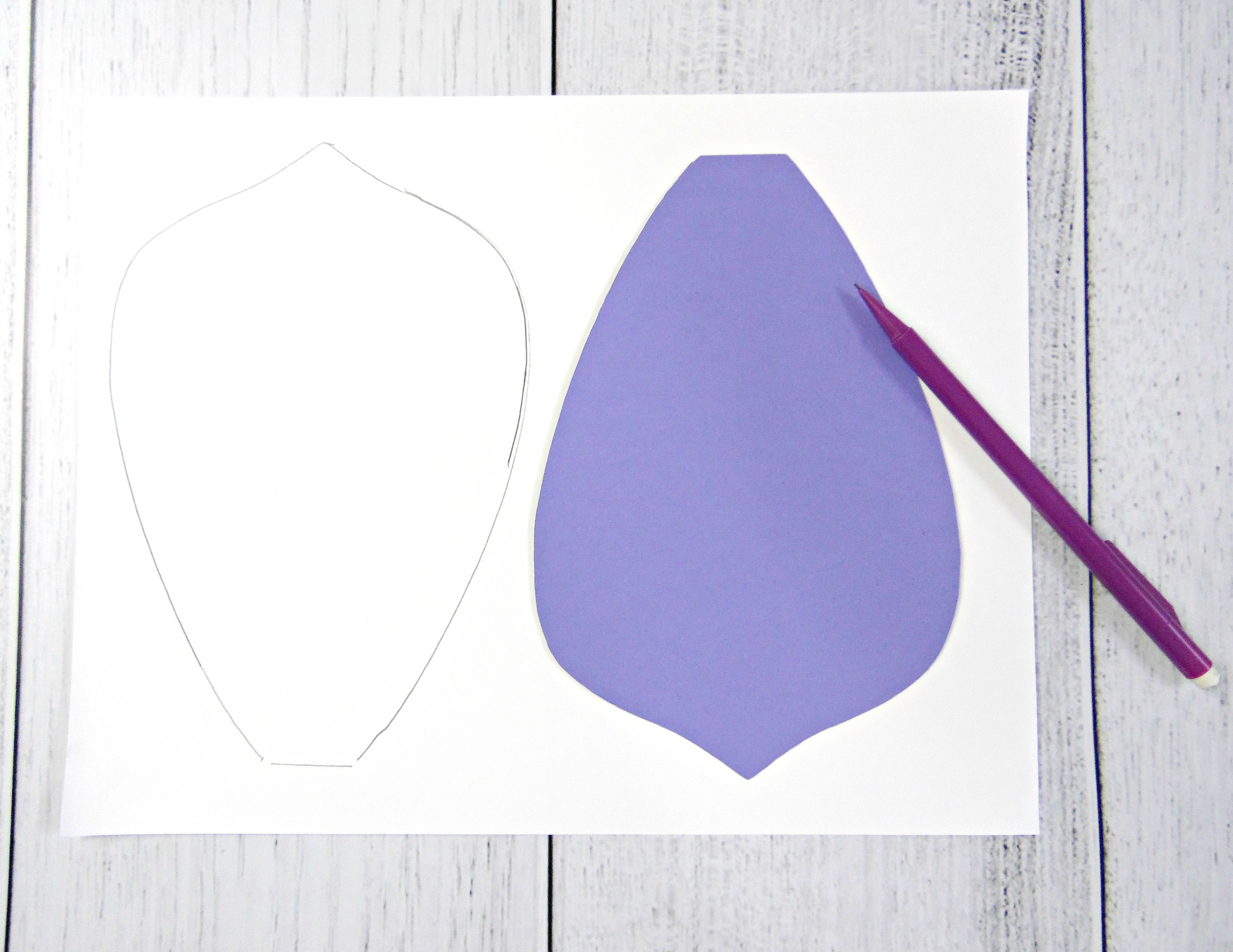 How To Make Giant Paper Flowers Step By Step Tutorial Giant Paper